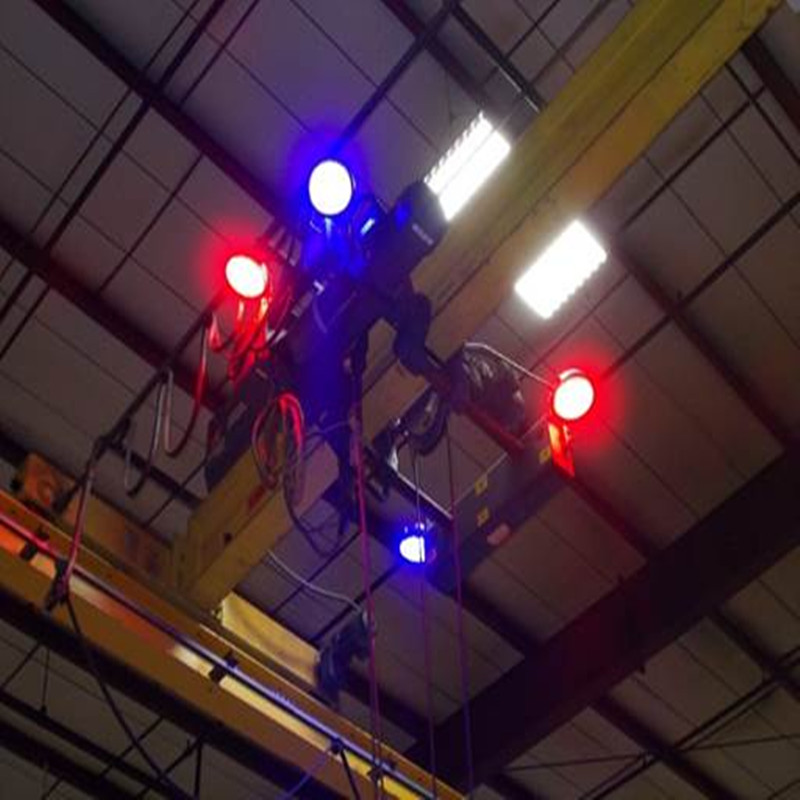 120W Rød LED Overhead Crane Warning Light