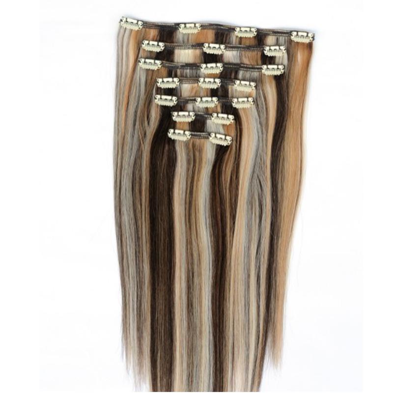 Sådan vaskes Clip-In Hair Extensions?