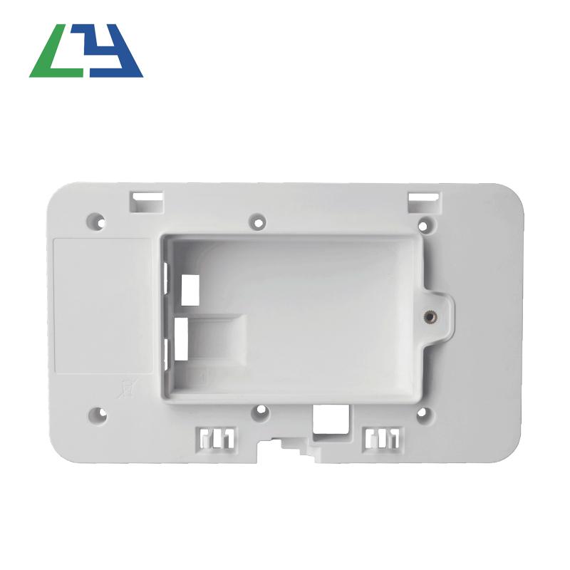 Kina Plastinjektion Støbt Let åben og luk OEM ABS sorte elektroniske kabinetter / kabinetter / kasser