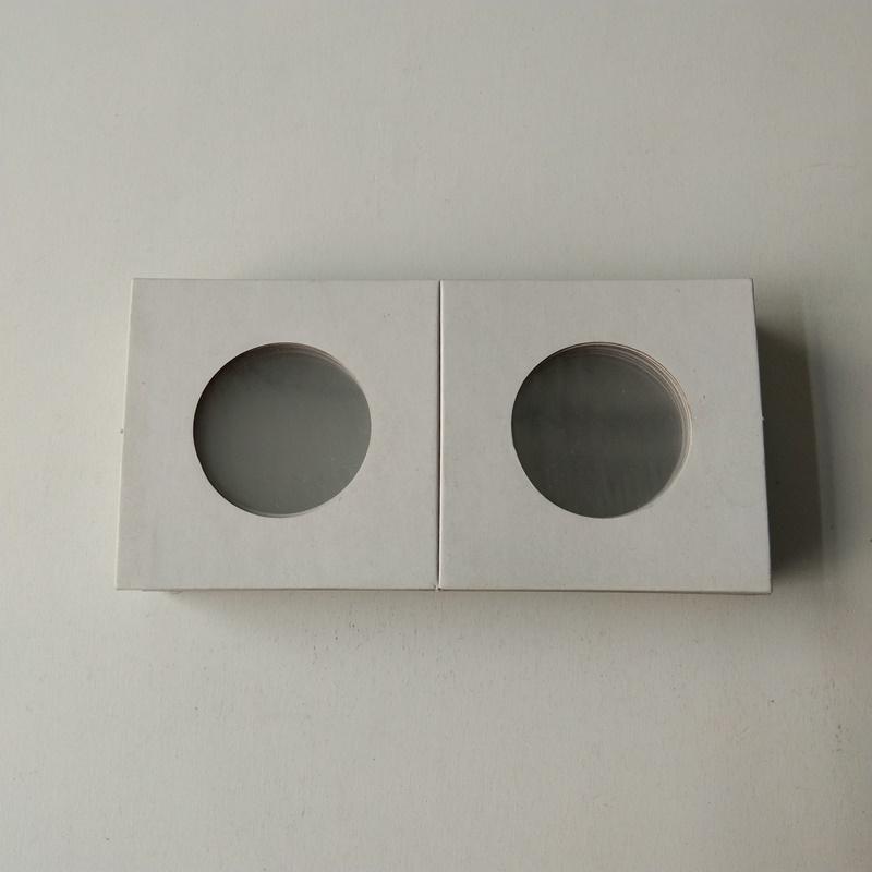 2X2 kartonpapirmøntholdere