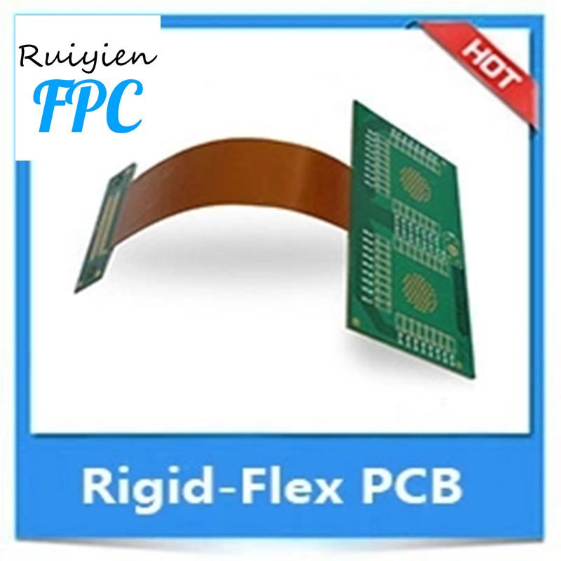Superledende flerlags højdensitet og drej PCB-samling med fleksibelt printkort