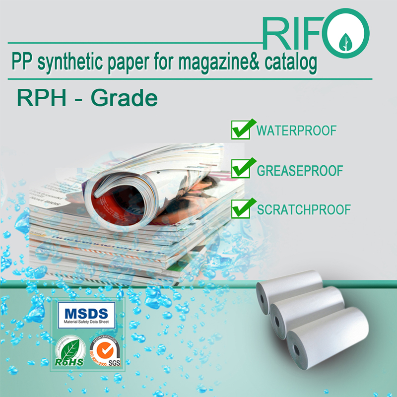 Er RIFO syntetisk papir genanvendeligt?