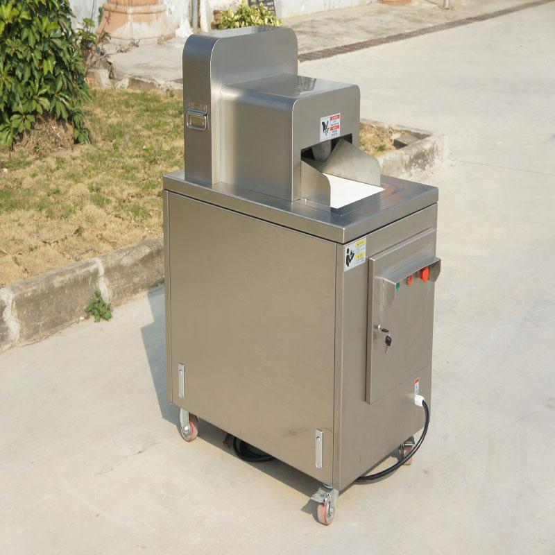 Fjerkræ skæremaskiner anvendes nu i cateringindustrien i Kina