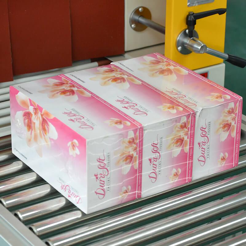 Op til 40 pc / min. Automatisk varmekrympindpakningsmaskine   GPL-5545C + GPS-5030LW