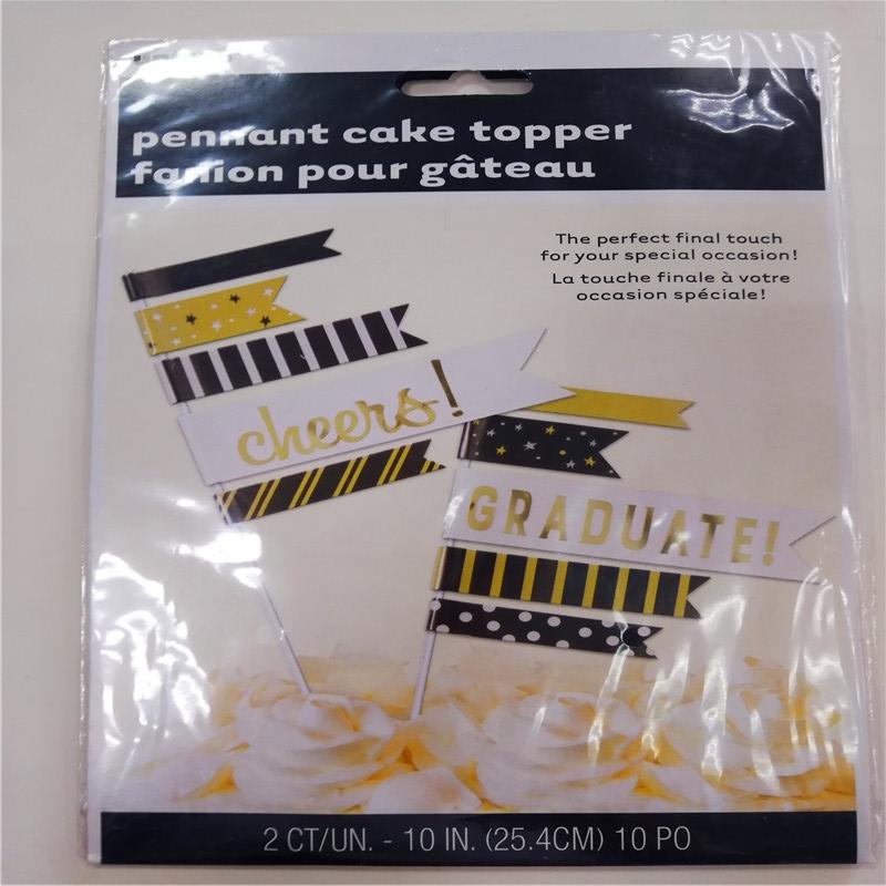 Pennant Cake Topper Flag fanion pour gateau