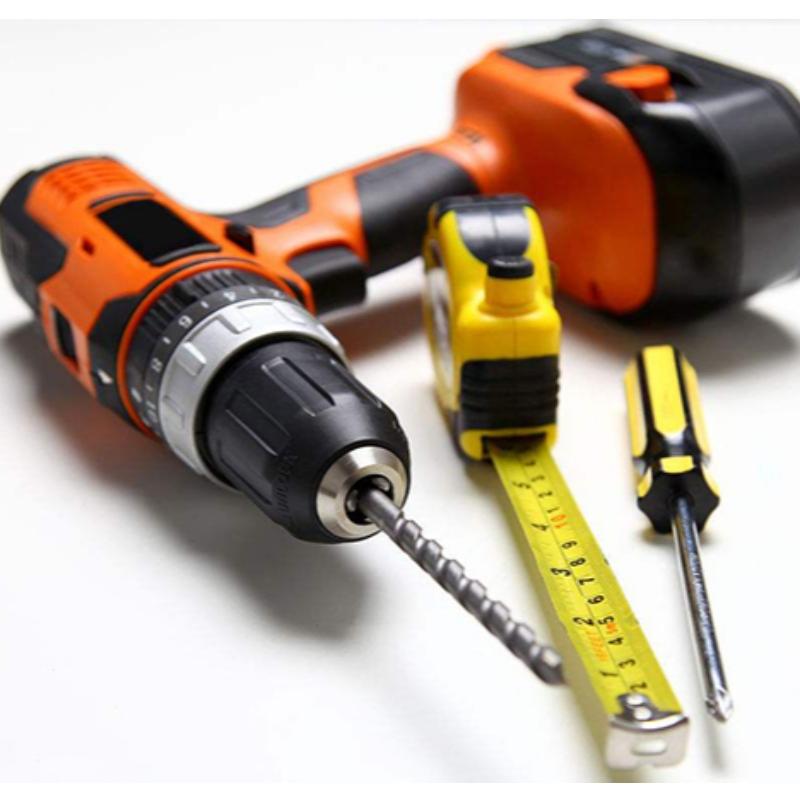 # Batteriudskiftning af elværktøj #