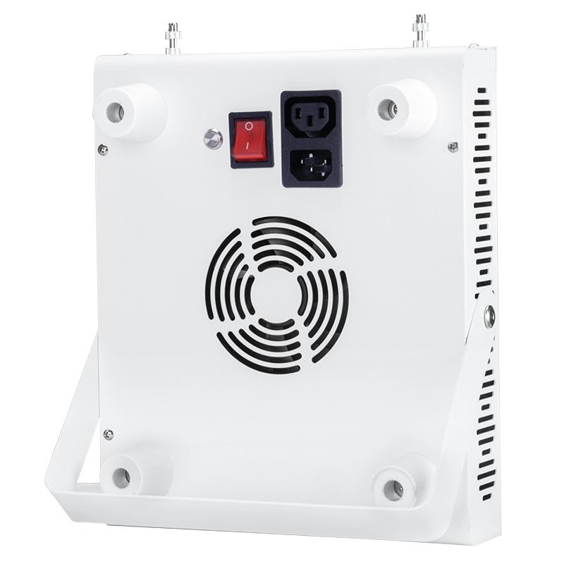 RD300 Rød 660nm u0026 nær infrarød 850nm hjemmelysterapilamper, 300W bærbar LED-terapilampe til hud- og smerteaflastning