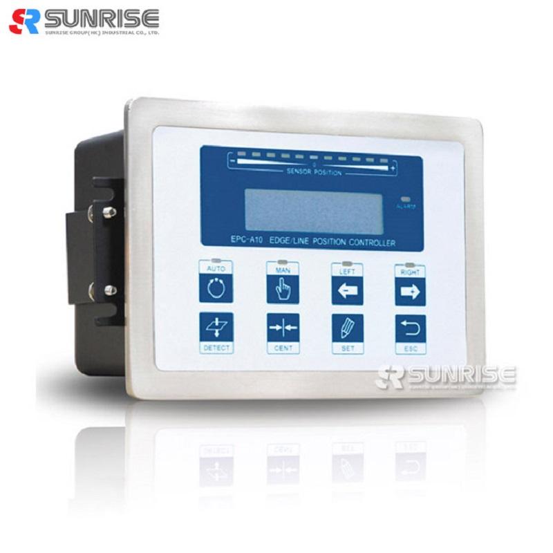 Webguidecontroller EPC-A10 til kantpositioneringssystem med sensor
