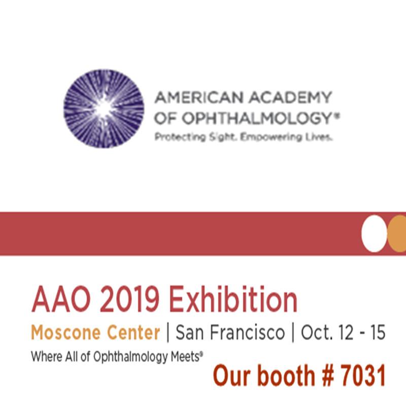 Velkommen til at besøge os på AAO 2019-udstillingen
