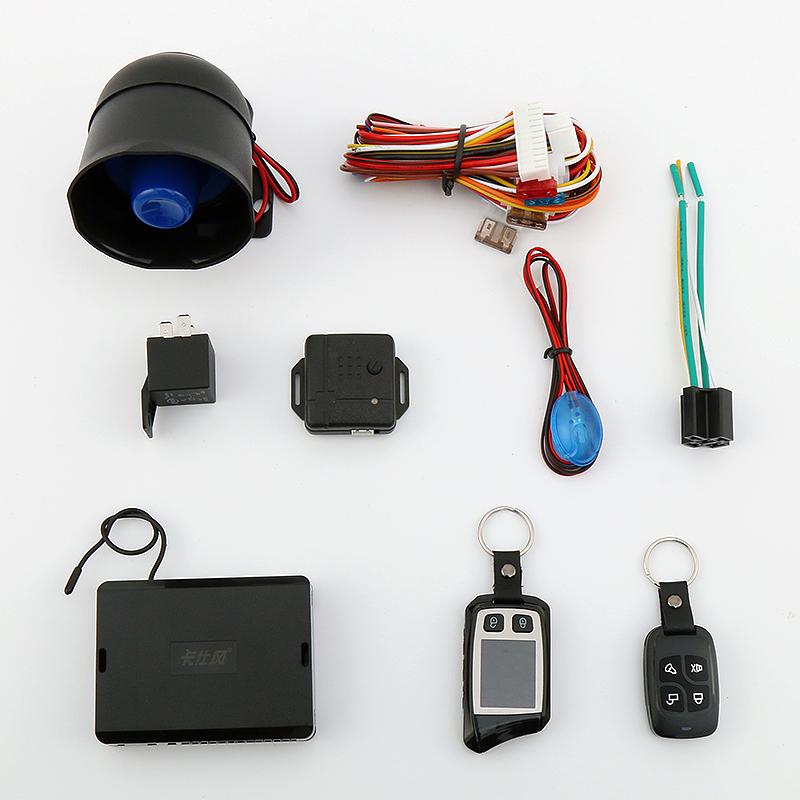 tovejs LCD-fjernbetjening til fjernbetjening af bilen