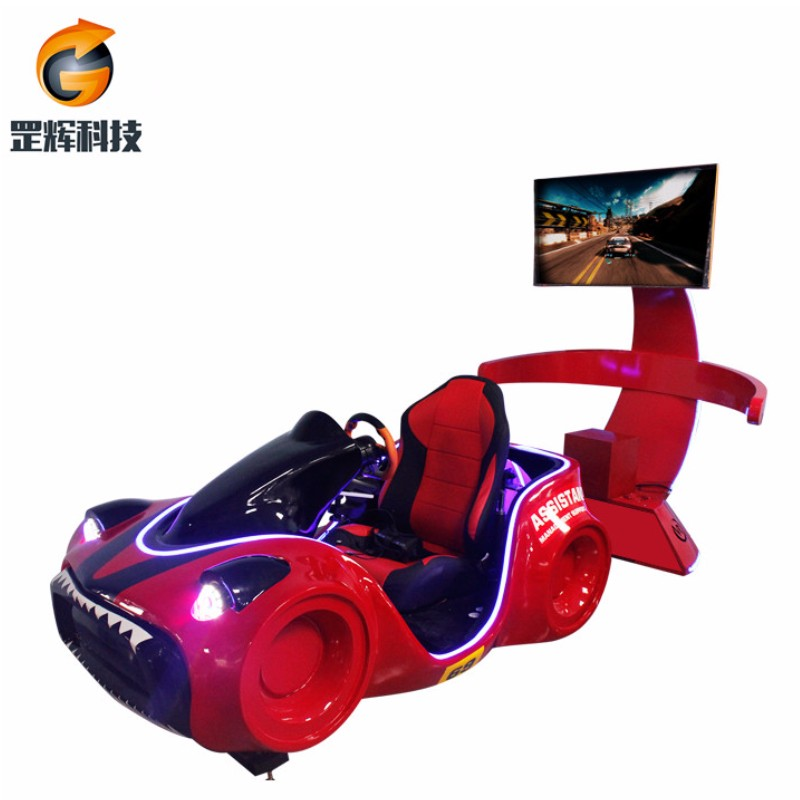 Racing Simulator VR Machine Global hot selling forlystelsesparker 3-aksel vr racerbil