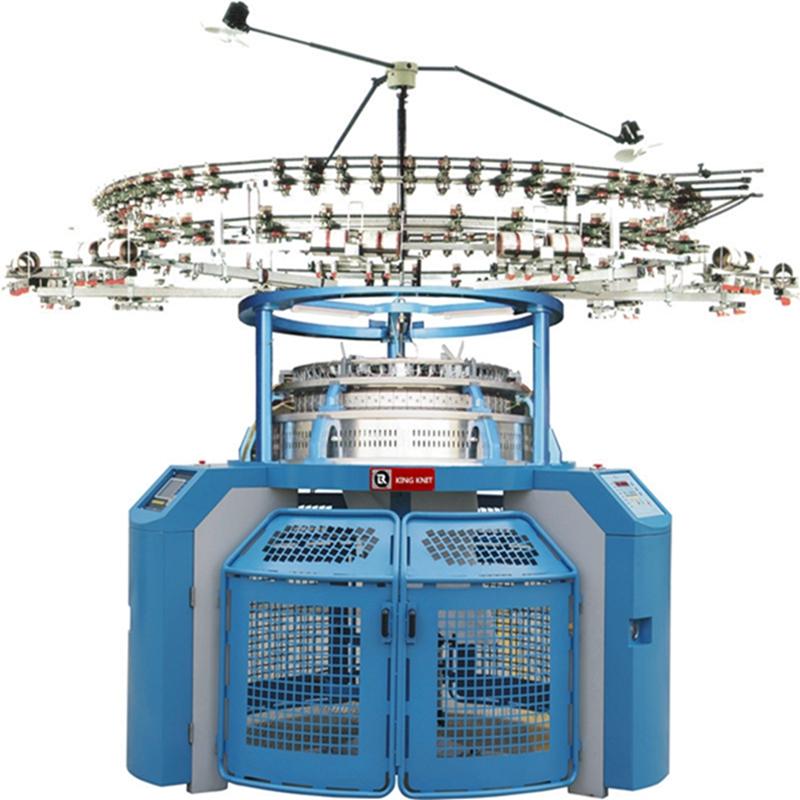 Koreas 4 spor Single jersey jacquard cirkulær strikketmaskine