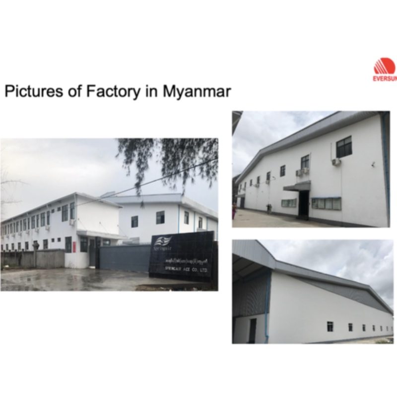 Fuldt ejet Myanmar fabrik
