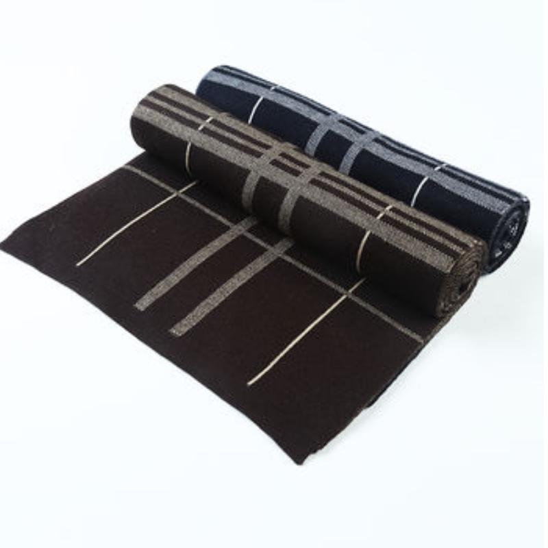 strikket tørklæde