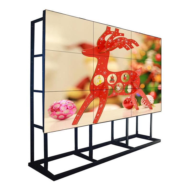 55 tommer 1,7 mm bezel 500 NIT Samsung LCD Video Walls Monitor skærm til Command Center, Shopping Mall og Chain Store