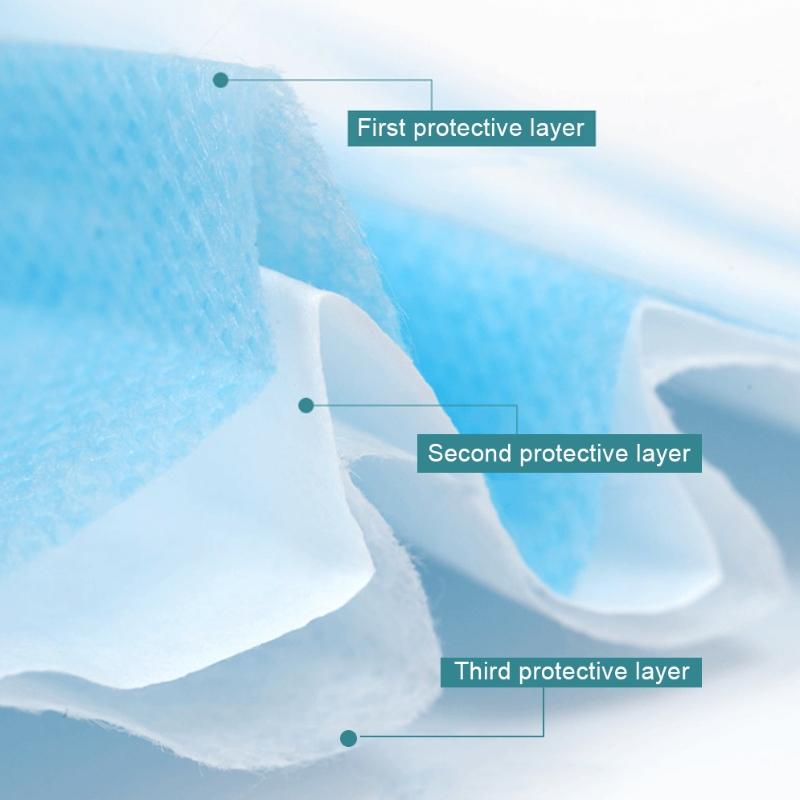 3-lags dagligt beskyttende ansigtsmaske til voksne
