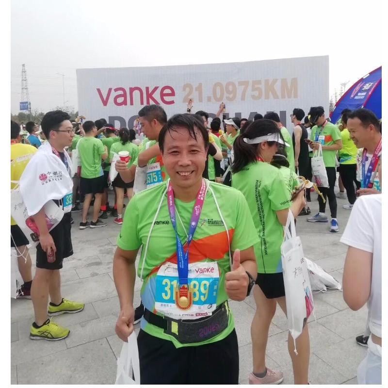 Marathon løbsport