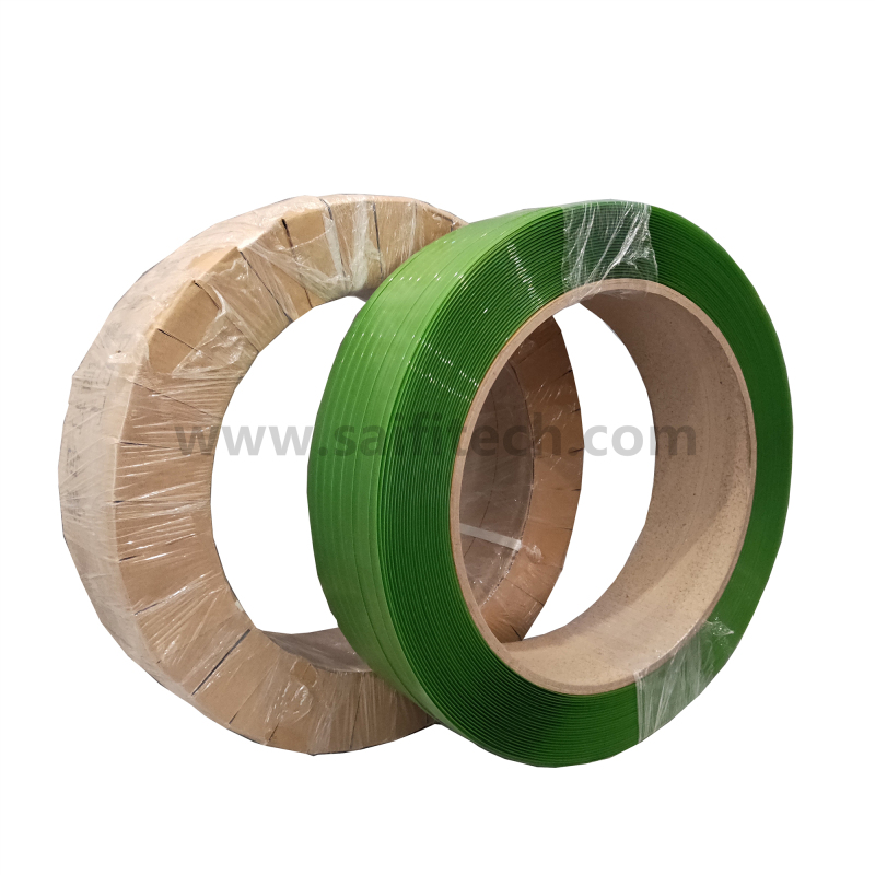 Grønt PET Polyester Strapping Band