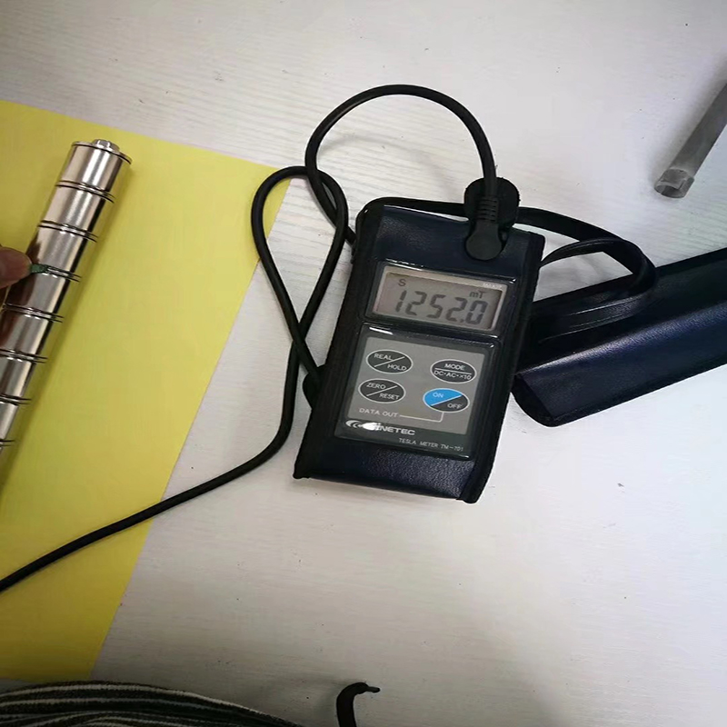 Super stærk NdFeB magnetisk bar 14000Gs SUS316 rustfrit ståltråd let at installere