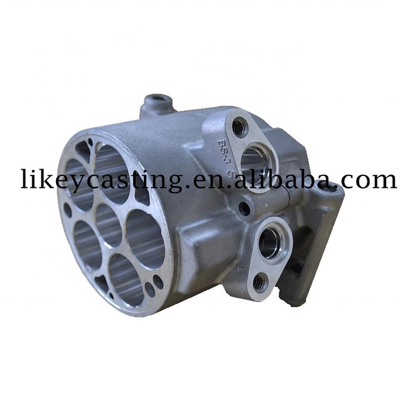 Aluminium Squeeze Casting&Die New Energy Car Compressor Main Body