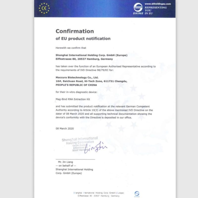 SARS-CoV-2 fluorescerende PCR-sæt