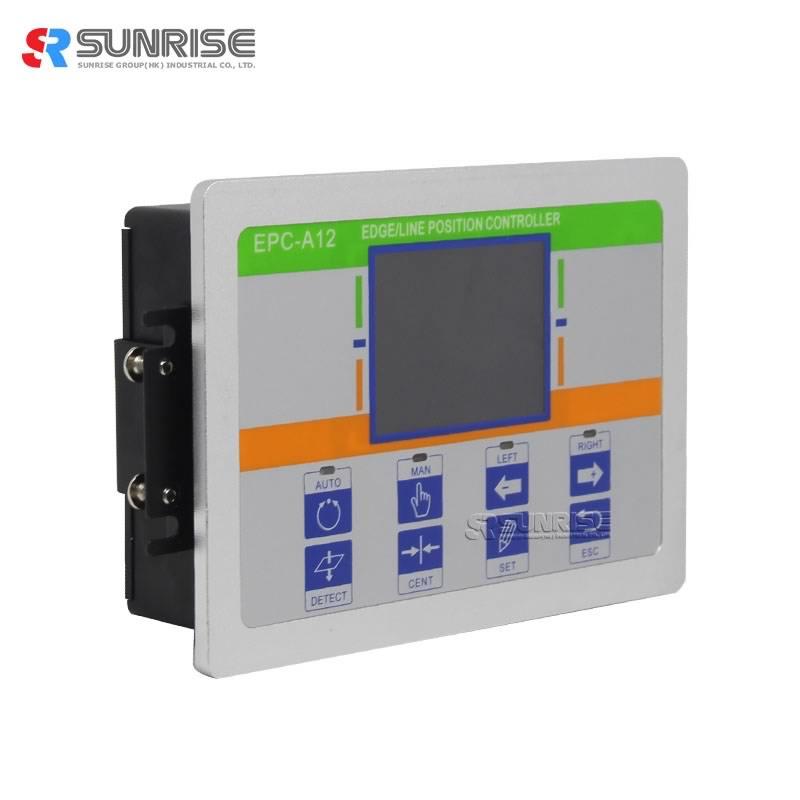 Trykmaskine Brug webguide Control System EPC-A12 Controller med fotoelektrisk sensor